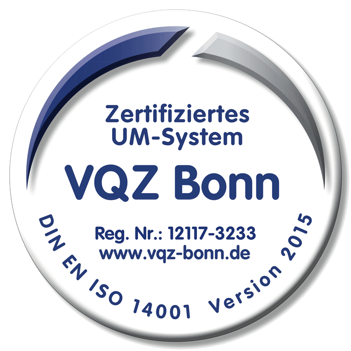 OROSOL - DIN-14001 Zertifikat