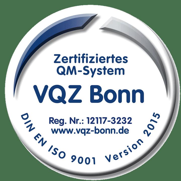 OROSOL - DIN-9001 Zertifikat